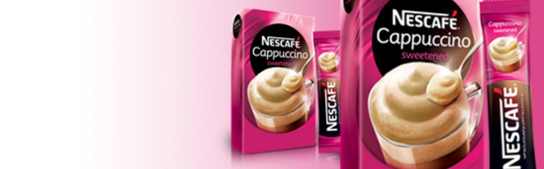 (Nescafé Cappuccino Sweetened) نسکافه کاپوچینو شیرینشده