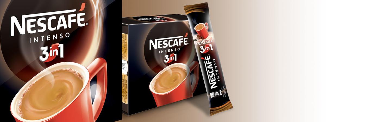 پودر قهوه فوری ۳ در ۱  اینتنسو (Nescafé Intenso 3in1)